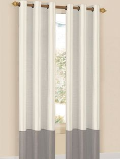 Britney Lined Grommet Panel from Winter-Weight Window Treatments on Gilt
