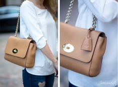Mulberry Medium Lily in Deer Brown. bag, сумки модные брендовые, bag lovers,bloghandbags.blogspot.com