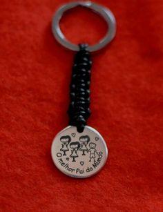 Porta Chaves personalizado #DiadoPai