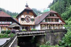 Reloj de Cuco del Eble Uhren-Park en Triberg (Selva Negra, Alemania)
