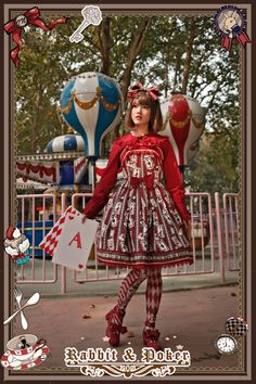 --> Recommendation: Infanta ✌~❤♡Rabbit Poker♡❤~✌ Series >>> http://www.my-lolita-dress.com/infanta/recommendation-infanta-rabbit-poker-series [IN STOCK]