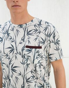 Floral Print Shirt, Core Collection, Tee Shirt Designs, Striped Tank, Beagle, Mens Suits, Neck T Shirt, Tee Shirts, Men Casual