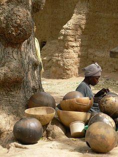 African desert crafts.
