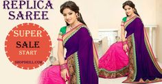 Bollywood Replica Saree Of Sandhya Sandhya in awesome Saree,Order this product now at - ( 50 % OFF )...