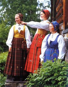 Hello all, This is the second part of my overview of the costumes of Norway. This will cover the central row of provinces in Eastern N. Folk Costume, Costumes, Norwegian Clothing, Costume Patterns, Going Out Of Business, Ethnic Dress, Bridal Crown, Heartland, Traditional Dresses