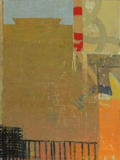 Sammy Peters - Contradictory: accumulation; reconceived, 2007  40x30 inches, Oil and mixed media on canvas