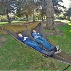 The Treble Hammock 2.0 fits one or two people
