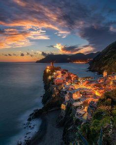 Vernazza • Cinque Terre • Italy (Europe)   ©Matt Reynolds