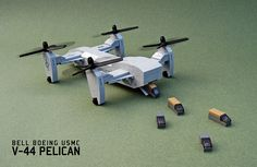 Bell Boeing V-44 Pelican by Red Spacecat, via Flickr