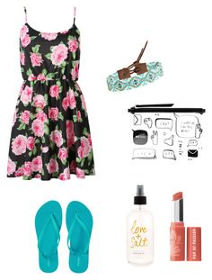 """Hotsummer"" by sunny1004 ❤ liked on Polyvore featuring Monki, Old Navy, Chan Luu and Bare Escentuals"