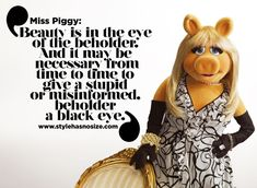 Quotes That Prove Miss Piggy is a Feminist Icon . Miss Piggy Quotes, Ellen Degeneres Quotes, Curvy Quotes, Feminist Icons, Life Guide, Kids Laughing, I Am Beautiful, Jim Henson, Guys Be Like