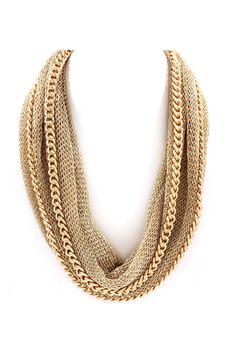 Mesh Rella Necklace on Emma Stine Limited