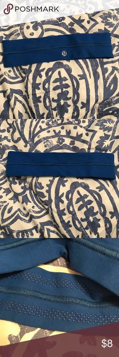 Lululemon headband Has grips to stay on your head lululemon athletica Accessories Hair Accessories