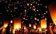 Un lâcher de Lanternes thailandaises pour un Mariage lumineux !