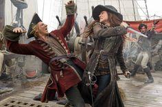 Black Sails - Anne Bonny and Jack Rackham