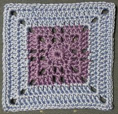 Ravelry: Project Gallery for Mini Filet Cross Afghan Square pattern by Heather C Gibbs