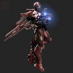 Invincible Iron Man by Mars M. | Fan Art | 3D | CGSociety