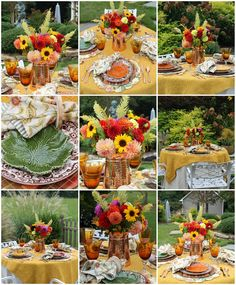 A Cozy Autumn Table