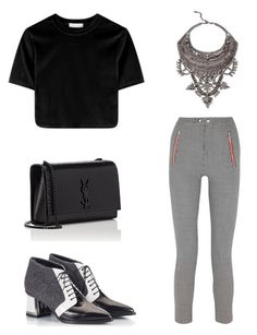 """""""G"""" by jmoriart ❤ liked on Polyvore featuring Isabel Marant, Alberto Guardiani, DYLANLEX and Yves Saint Laurent"""
