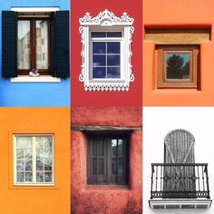 Windows by:  R1C1: @hovistoninavolare R1C2: @sisselia R2C1: @alexanderbodnya R2C2: @valederamos R3C1: @ali.mit R3C2: @visnuh  Congratulations!  Tag #windowsanddoorsoftheworld to be featured!
