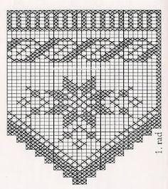 Learn to Crochet – Crochet Wave Fan Edging. Filet Crochet, Crochet Borders, Crochet Flower Patterns, Crochet Chart, Love Crochet, Crochet Curtains, Crochet Tablecloth, Crochet Doilies, Crochet Lace