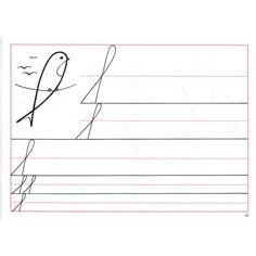 Pracovní listy k písankám pro speciální školy – 2. sešit (prvky písmen) Handwriting Practice, Home Schooling, Kindergarten, Homeschool, Teaching, Education, Writing Exercises, Preschool, Cuba