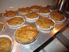 Deceptively Delicious Peanut Butter Banana muffins