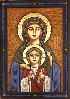 """Virgin Mary """"Theotokos """" -coptic icon Catholic Art, Catholic Saints, Holiday Photography, Christian Art, Christian Church, Blessed Virgin Mary, Art Icon, Religious Icons, Orthodox Icons"""