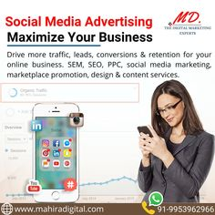 Social Media Optimization is the magic wand for every business's promotion across the globe. Social Media Marketing, Digital Marketing, Online Business, Promotion, Globe, Advertising, Magic, Speech Balloon