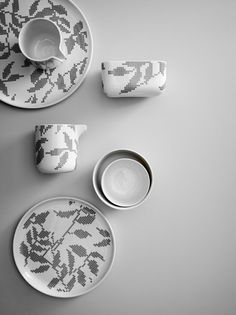 Stitches is a beautiful new dish ware collection designed by Gry Fager for Danish brand Menu. // THE STYLE FILES
