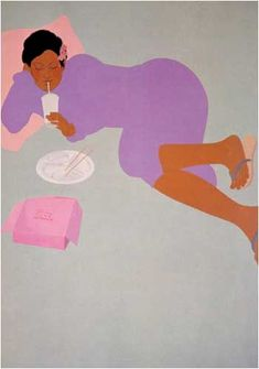 "Pegge Hopper Pegge Hopper Print by Pegge Hopper Pegge Hopper 'Wood"" part of the Five Element Series by Pegge Hopper ""..."