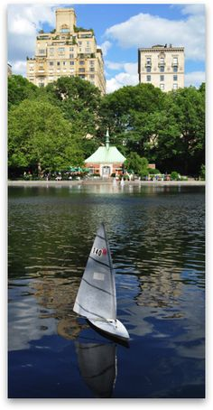 Sail boat rentals in central park - $11 per half hour. First come first serve.