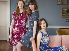 Cath Kidston AW15 - The Library Collection. Just wondering about the wild ponies dress, but think the style is for someone with curves