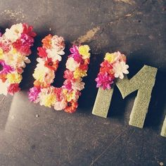 Summer DIY Projects You Can Use In Your Dorm Room - 3D Initials