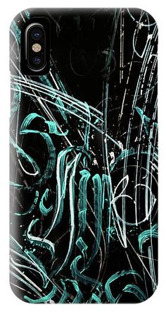 Calligraphic Abstract IPhone X Case for Sale by Dmitry Mandzyuk Iphone 5c Cases, Cool Phone Cases, 5s Cases, Fine Art Photography, Are You The One, Shell, Presentation, Anniversary, Profile
