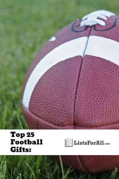 If you love football, or know someone who loves football, this list is for you! Every gift you could ever want as a football fan. Football Crafts, Gifts For Football Fans, Football Players, Best Gifts, Sports, Ideas, Soccer Crafts, Hs Sports, Soccer Players