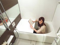 シティテラス加賀のモデルルーム バスルーム