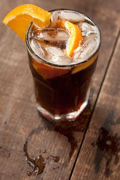Bitter Amaro and sweet rye whiskey meet Dr Pepper in this eminently sippable drink.