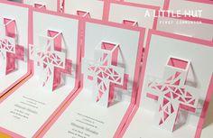 first comunion invitations, via Flickr.