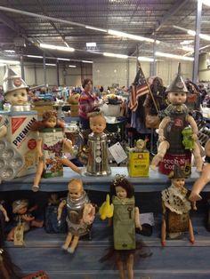 upcycled dolls