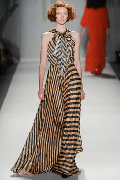 Stripes at Jenny Packham