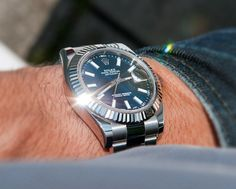 #Rolex #Datejust II 116334 Black dial #swisswatchdealers