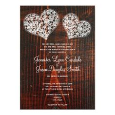 >>>Best          Rustic Barn Wood Lace Hearts Wedding Invitations           Rustic Barn Wood Lace Hearts Wedding Invitations lowest price for you. In addition you can compare price with another store and read helpful reviews. BuyReview          Rustic Barn Wood Lace Hearts Wedding Invitatio...Cleck Hot Deals >>> http://www.zazzle.com/rustic_barn_wood_lace_hearts_wedding_invitations-161896167106712110?rf=238627982471231924&zbar=1&tc=terrest