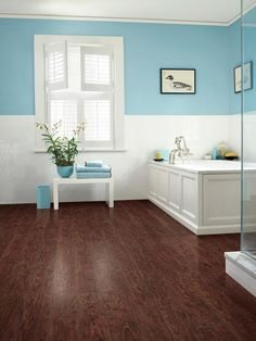 Yay or Nay? Faux Wood Flooring #pinwithmeg