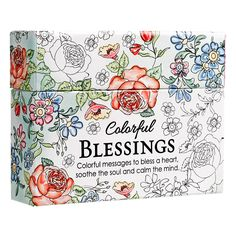 Amazon.com: Colorful Blessings: Cards to Color and Share (6006937132580): Christian Art Gifts: Books