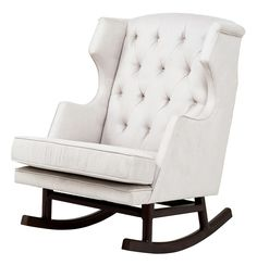 Ok the price will knock Eric off his rocker but it is gorgeous....Nurseryworks Empire Rocker