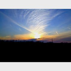 Oklahoma sky 🌅