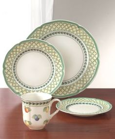 Villeroy & Boch Dinnerware, French Garden Collection | macys.com