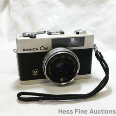 Konica C35V Hexanon 1:2.8 Lens 379817 1970s Vintage 35mm Camera Silver #KonicaMinolta