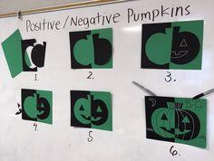 Positive / Negative Pumpkins